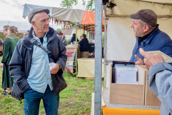 Michel Doneda avec Jérôme Noetinger photo © Gérard Rouy